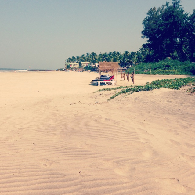 Ashvem Beach, North Goa