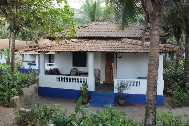 A traditional Goan cottage at Yab Yum Resorts