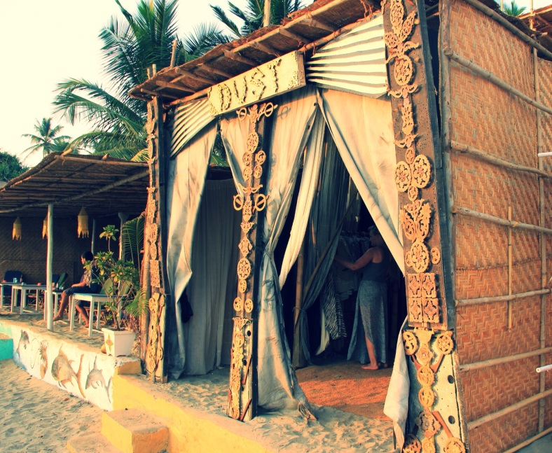 Goan chic, Morjim Beach, North Goa