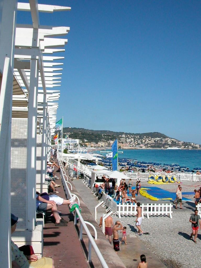 Plage de Nice, Nice, France
