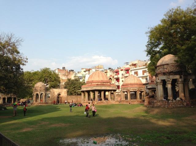The ruins at Hauz Khas Village, Delhi, India