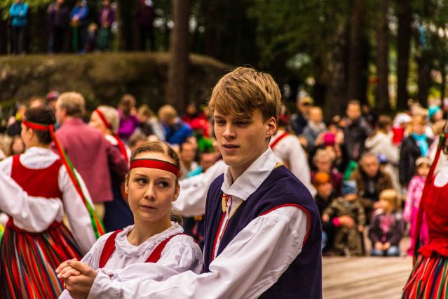 Finnish folk dances