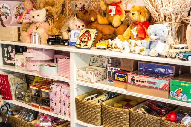 Suomenlinna Toy Museum's shop