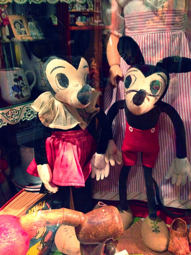 Mickey and Mini Mouse at Suomenlinna Toy Museum