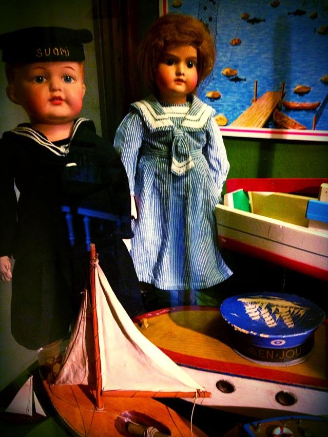 Finnish navy dolls