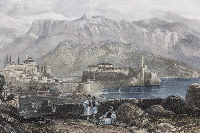 Ioannina's fortification during the Ottoman rule