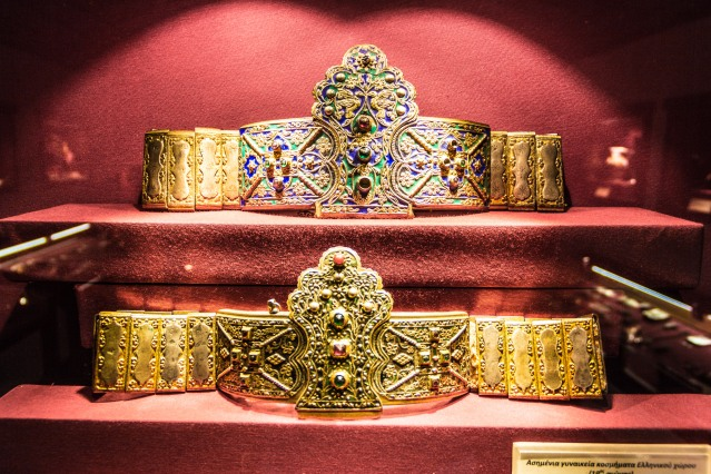 19th century silver belts made in Ioannina