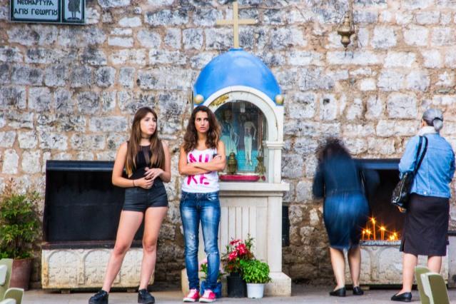 Street scene, Ioannina, Greece