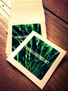 Traveller's Tree cool stickers